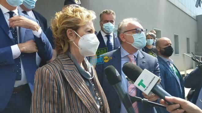 visita san fermo ospedale sant'anna vice presidente regione letizia moratti