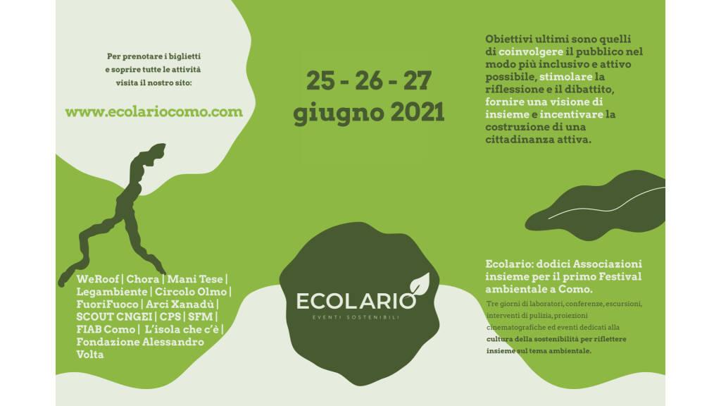 Ecolario prima edizione festival ambientale