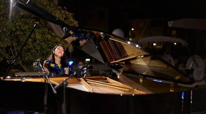 Ying Li a Villa Bernasconi per la festa della musica