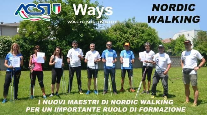 Nordic walking Como Federica Paracchini