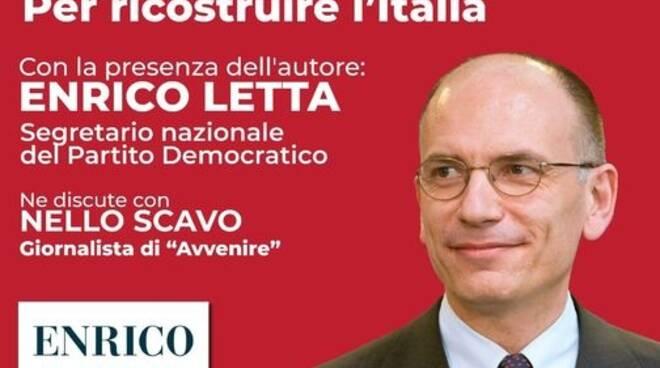 Presentazioni libri Como e provincia weekend letterario 24/26 giugno Enrico Letta