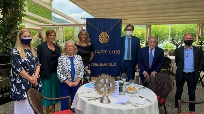 Rotary club Como Baradello dispositivo Sabin Lifegate
