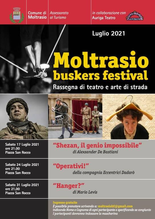 Moltrasio Buskers Festival 2021