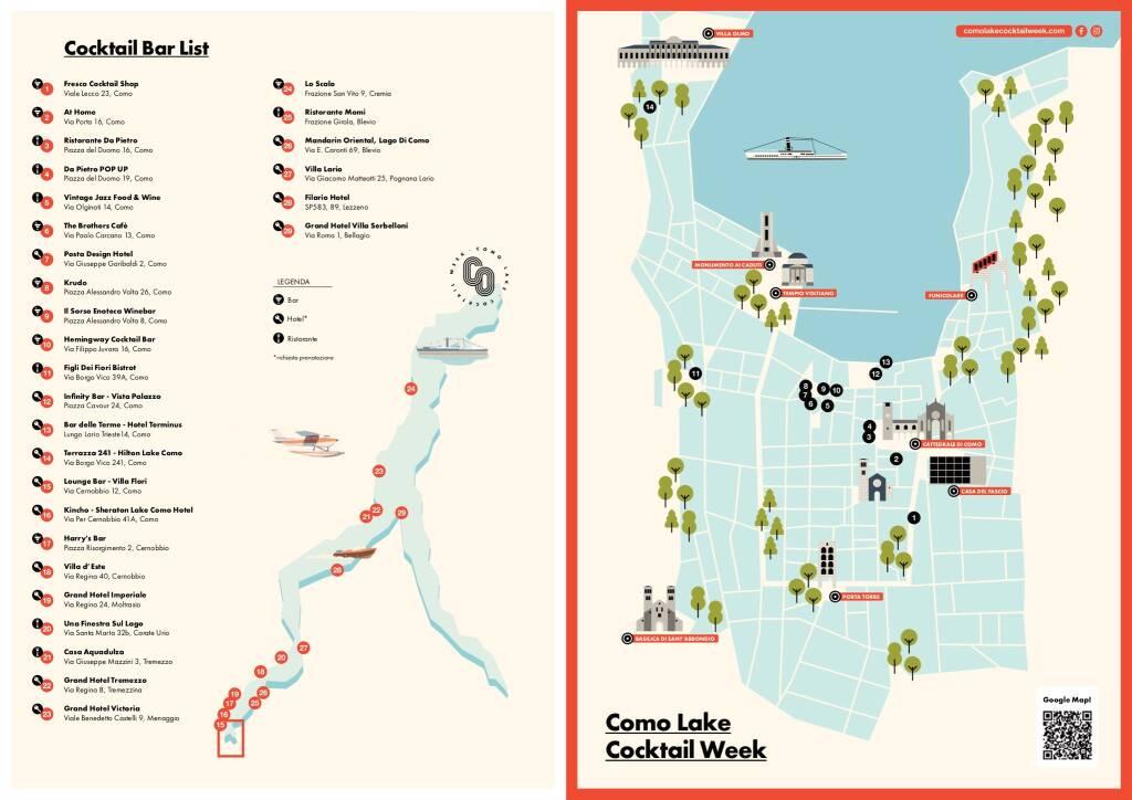 Como Lake Cocktail Week seconda edizione 1 - 4 luglio 2021