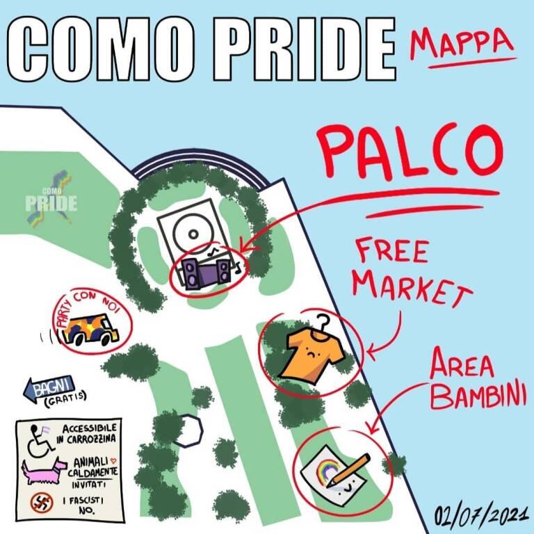 Como Pride 2 luglio 2021