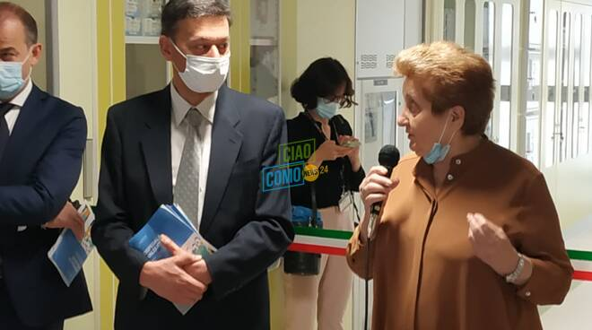 Inaugurazione nuove sale operatorie Valduce Como: la cerimonia