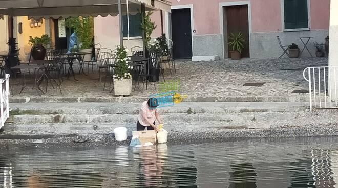 La sciura che fa il bucato nel lago ed il Cimino: benvenuti a Sala Comacina