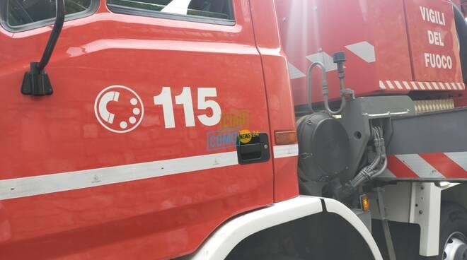 mezzo pompieri generico per interventi vari in provincia
