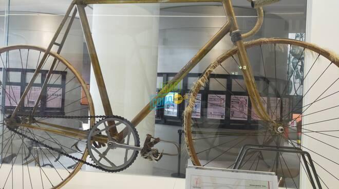 museo del ciclismo ghisallo omaggio coppi sue biciclette gentilini e spinosa