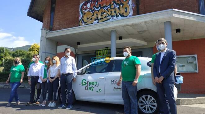 Presentazione anello Green Day parrocchia di Sagnino con i protagonisti