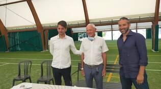 Presentazione nuovo centro sportivo di Zambrotta e centro tecnico Milan