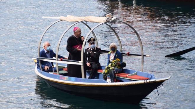 processione sul lago 30 maggio 2021