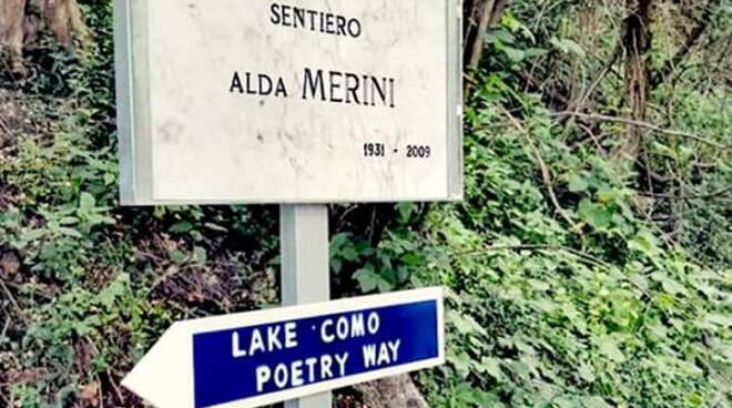 sentiero alda merini lake como poetry way