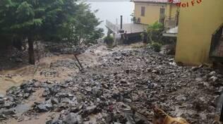 alluvioni e frane comasco luglio 2021 immagini utilizzabili