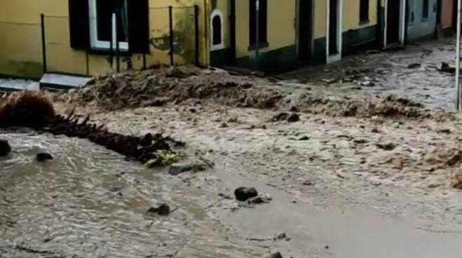 alluvioni e frane strada regina 27 luglio 2021