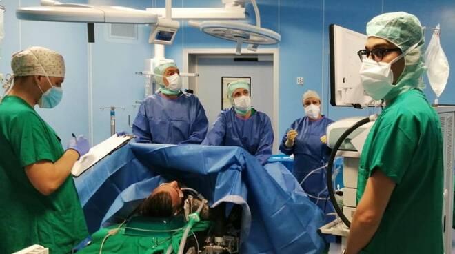 aperto nuovo blocco operatorio ospedale di Cantù
