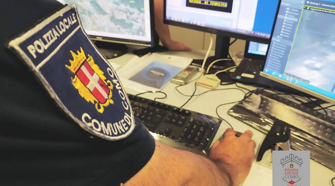 centro operativo comunale di como polizia locale telefono