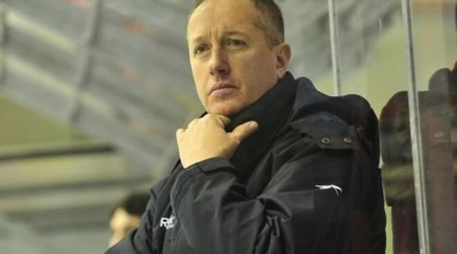 coach massimo da rin hockey su ghiaccio nuovo allenatore hockey como