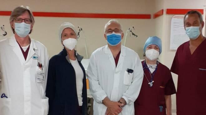 equipe sant'anna operazione di asportazione tumore al pancreas ad una ragazza 14enne