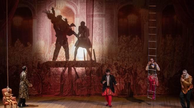 Rigoletto I misteri del teatro Opera education Villa Olmo Festival