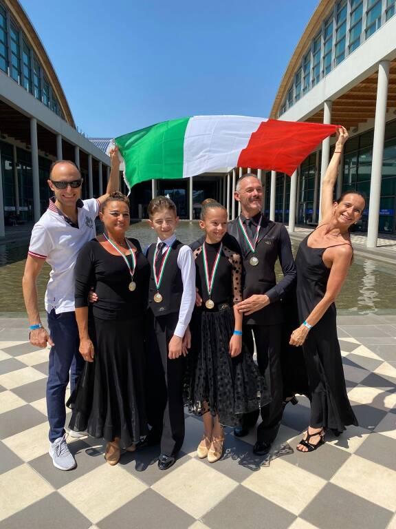 Medaglie d'oro e Oro dance campionati italiani di Rimini