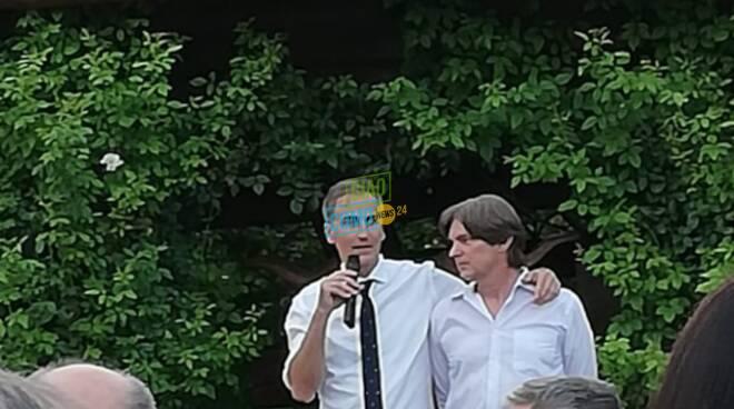I nostri lettori al brindisi con il presidente Fermi e con Marco Romualdi