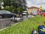 incidente fra auto questa mattina buccinigo erba
