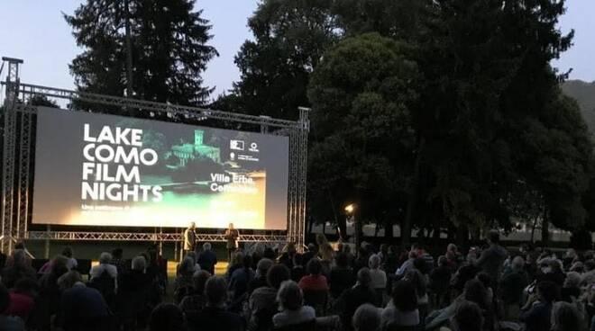 lake como film night villa erba