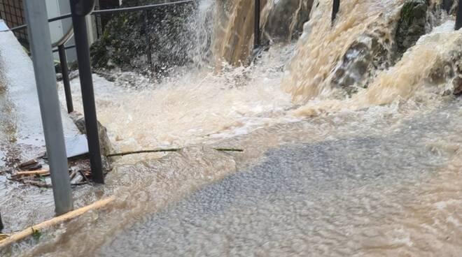 maslianico allagata dopo alluvione, valletti e vari posti del paese