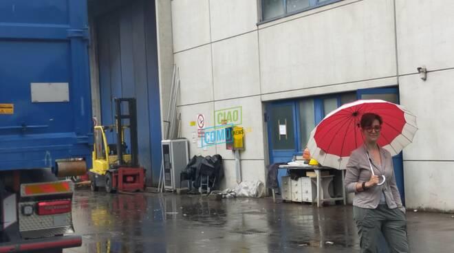 michela caldara amministratore unico nuova lario albese dopo incendio capannone
