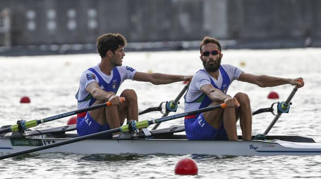 olimpiadi tokyo canottaggio barca di willy ruta e aisha rocek