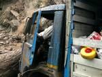 smottamento nesso lezzeno camion