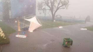 villa olmo danni tempesta 25 luglio