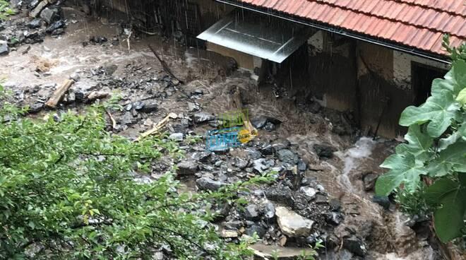 Blevio, l'alluvione di fine luglio: la casa di Cesare spazzata via da fango e detriti