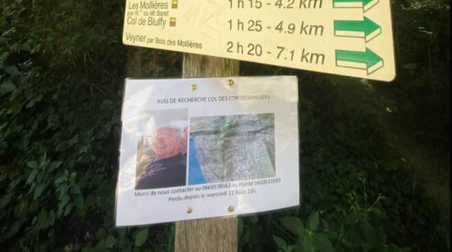 canturino scomparso monti alta savoia in francia gianfranco caspani sua foto nei sentieri