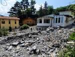 Casa devastata a Laglio dall'alluvione: i genitori di Gaia sfollati da due settimane