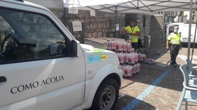 como acqua distribuzione bottiglie ad argegno acqua inquinata al pozzo bottiglie