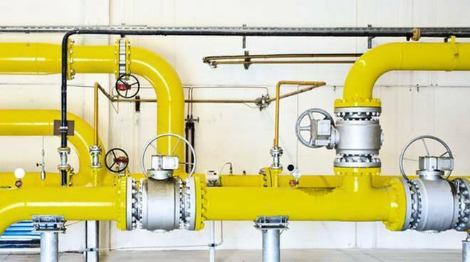 erogazione del gas carenza a ponte chiaso e sagnino