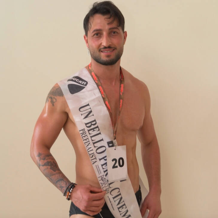 Gian Kara in finale a Mister Italia 2021