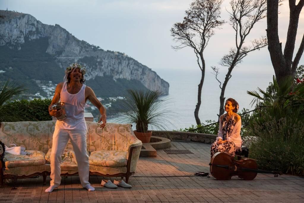 Simposio di Platone Irina Solinas e Christian Poggioni