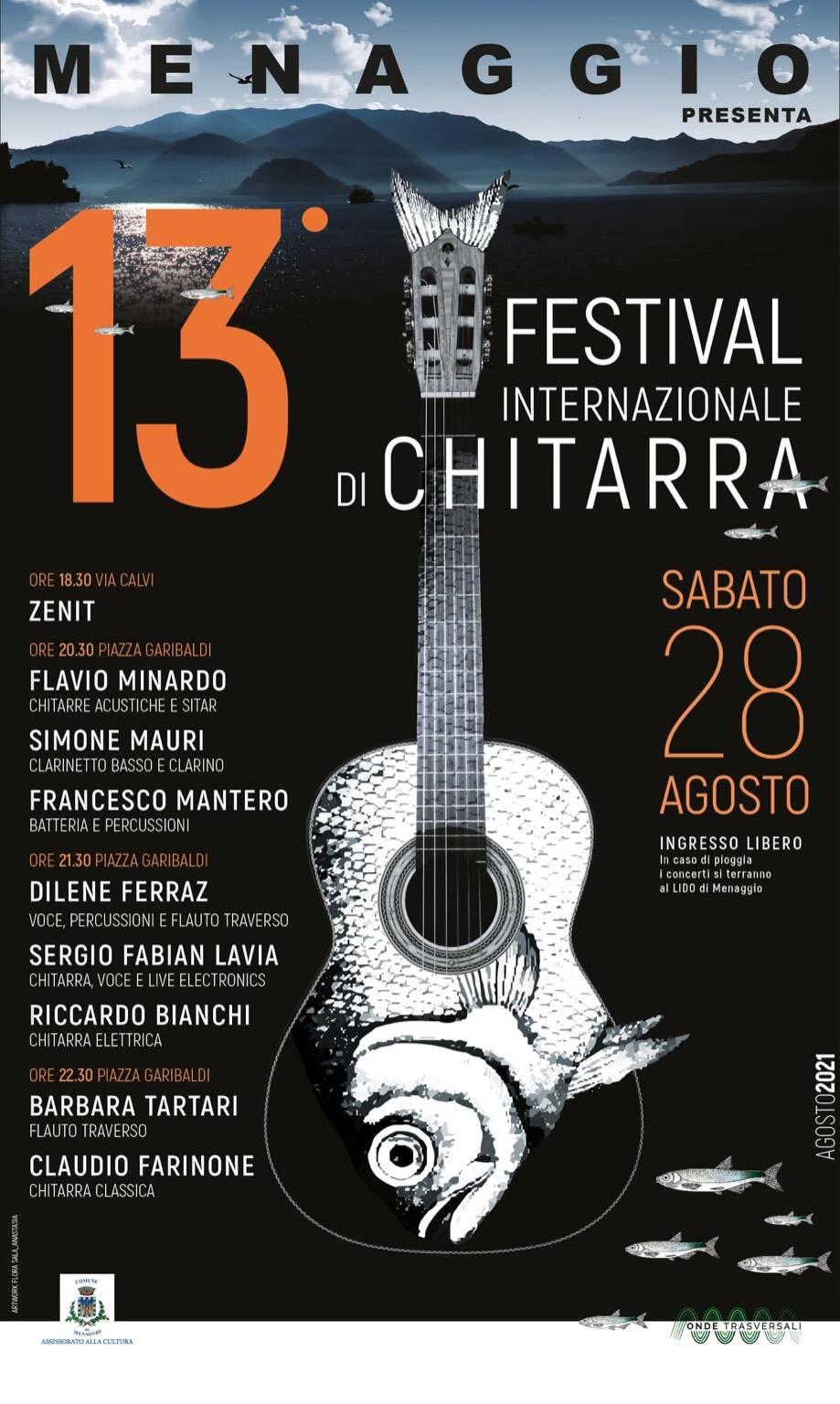 XIII Festival internazionale Chitarra Menaggio