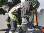 incidente cermenate e garzola, mezzi coinvolti pompieri