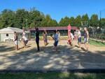 pallacanestro cantù allenamento odierno sul campo di beach volley e nuovo arrivo