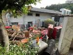 Stimianico di Cernobbio, la devastazione in casa di Sergio Della Torre dopo l'alluvione