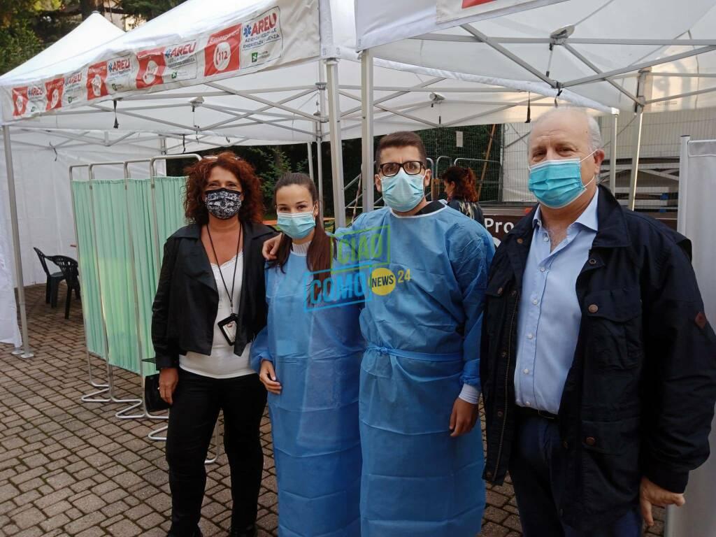 areu camper 118 porlezza per vaccinazone senza prenotazione