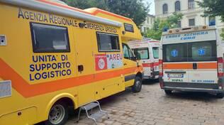 camper areu in centro como per le vaccinazioni personale sanitario e mezzo