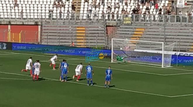 code tifosi como esterno stadio prima di como ascoli e rigore decisivo della partita