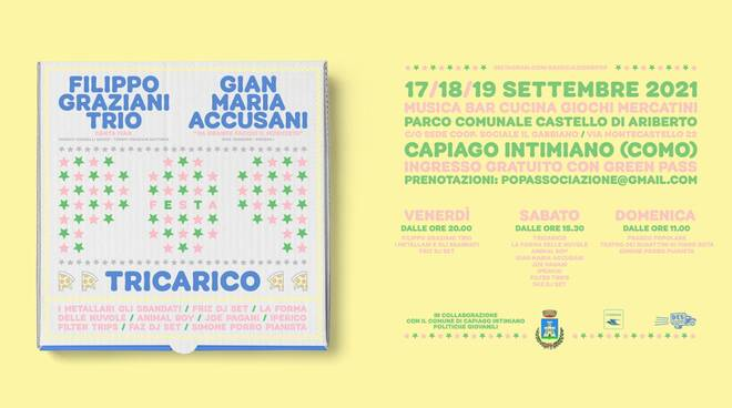 Festa pop 2021 Capiago Intimiano