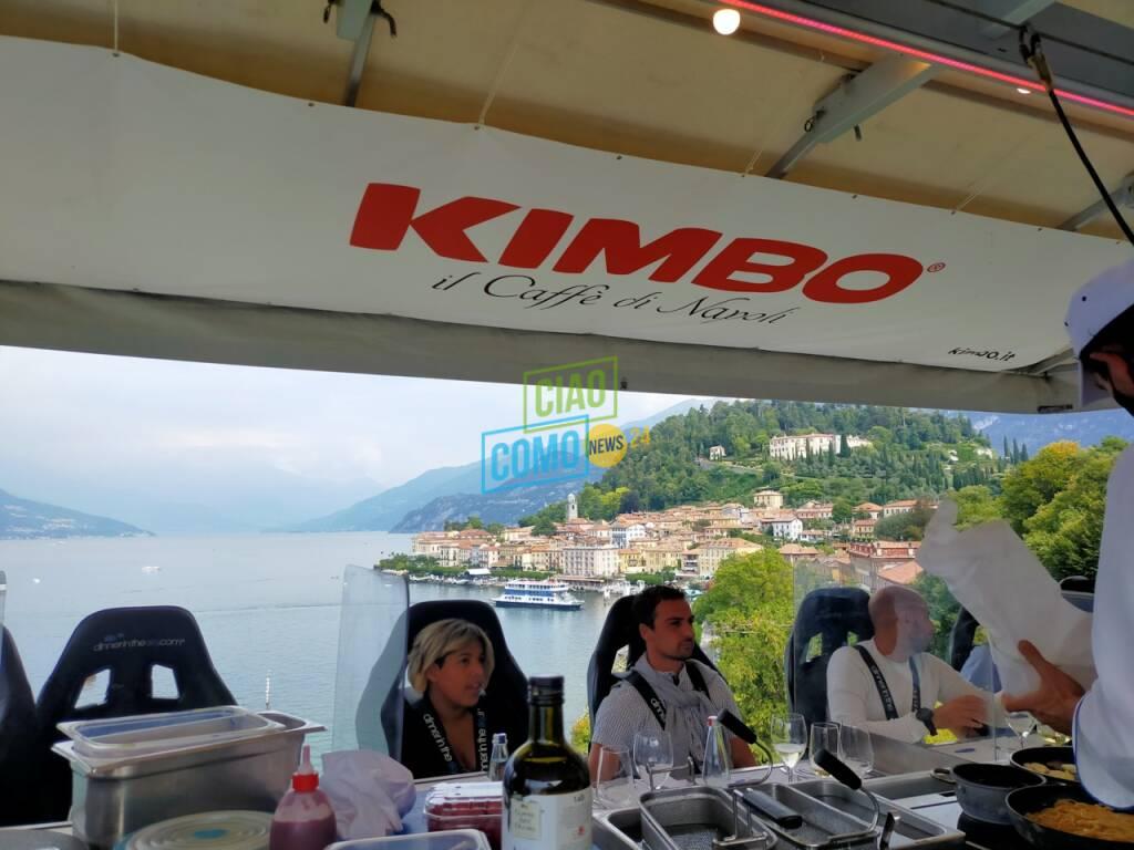 Il dinner in the sky fa tappa a Bellagio: anche noi in quota con lo chef Gandola