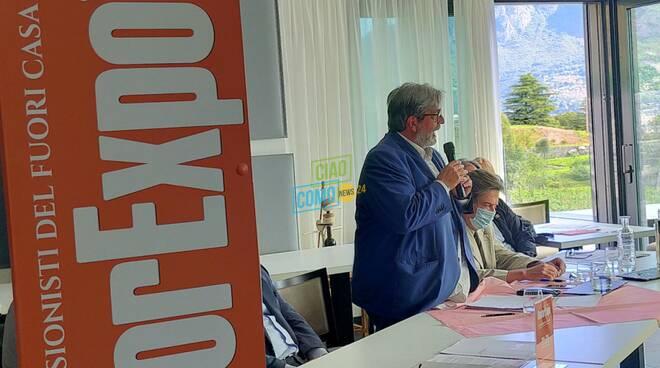 presentazione cascina varenna valmadrera ristoexpo 2021 con organizzatori